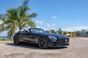 Аренда Mercedes GT Roadster 2019 Черный в Майами