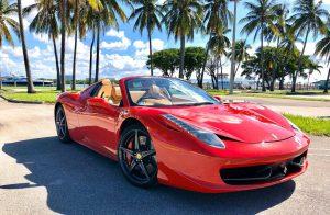 Ferrari 458 F1 in Miami