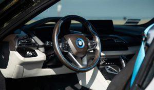 BMW I8 white аренда в Майами