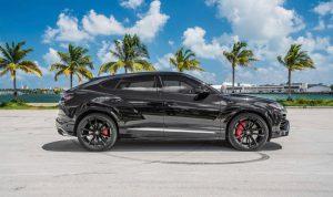 Lamborghini URUS 2019 Черный аренда в Майами