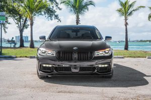 Аренда Bmw 750I LX luxury в Майами