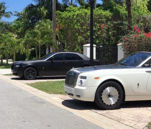 Аренда Rolls Royce Phantom в Майами