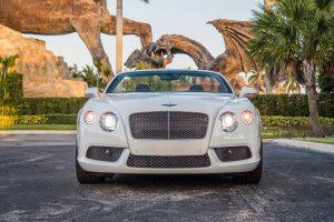 Аренда Bentley Continental GT Белый в Майами